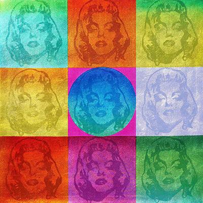Honouring Marilyn Monroe 190×190 cm